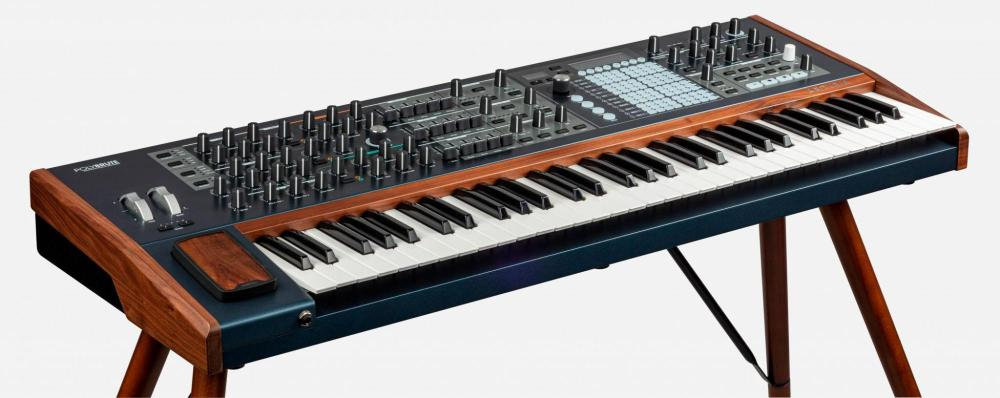 6-voice analog morphing poly Synthesizer