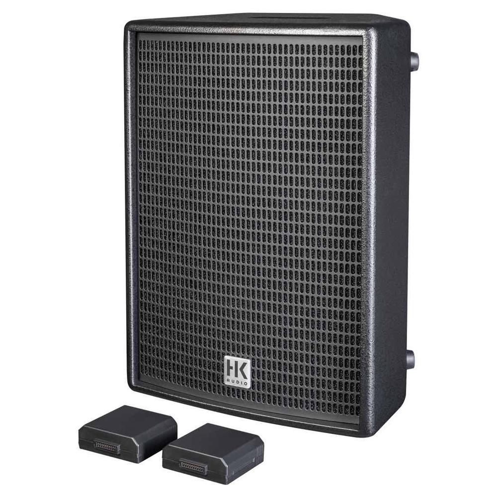 "Battery powered speaker - 2 way 8""/1"" 2 way with 60W multi-purpose amplifier"