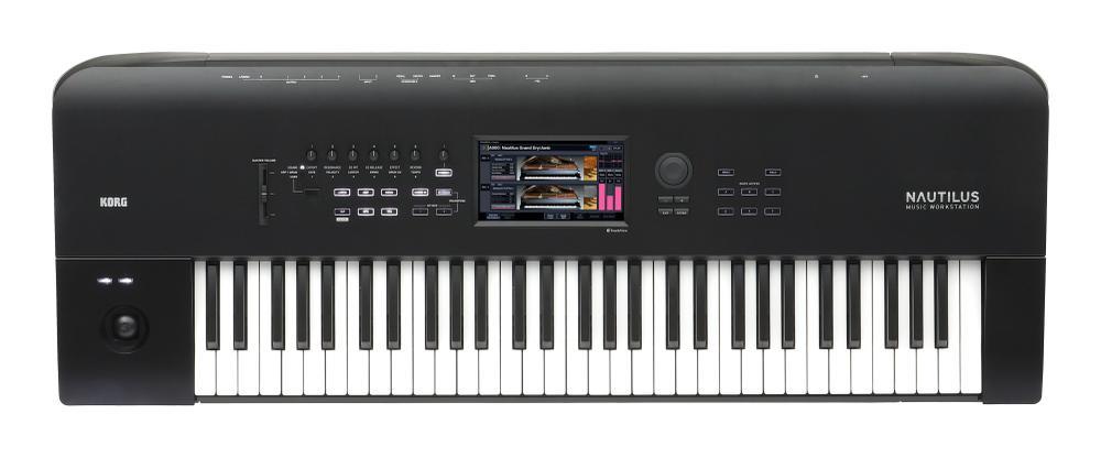 Digital Synthesizer NAUTILUS, 61 keys, 9 Sound-Engines ( available mid April )