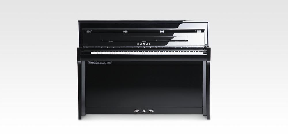 NOVUS NV5S High-End Hybrid Digital Piano #polished black ( available tba )