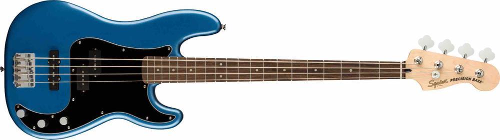 Affinity Series™ Precision Bass® PJ, Laurel Fingerboard, Black Pickguard, Lake Placid Blue